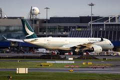 B-LRP | Cathay Pacific | Airbus A350-941 | CN 101 | Built 2017 | DUB/EIDW 26/01/2019 (Mick Planespotter) Tags: blrp cathay pacific airbus a350941 101 2017 dub eidw 26012019 aircraft airport 2019 dublinairport collinstown nik sharpenerpro3 a350