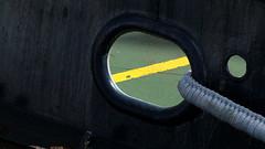 Yellow (patrick_milan) Tags: yellow ligne green boat abeille bourbon brest black