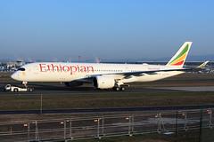 Ethiopian Airlines  Airbus A350-941 ET-AUA (widebodies) Tags: frankfurt main fra eddf widebody widebodies plane aircraft flughafen airport flugzeug flugzeugbilder ethiopian airlines airbus a350941 etaua