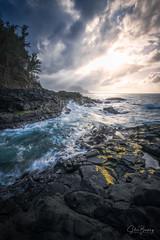Queen's Bath II (sberkley123) Tags: princeville tidefall kauai nikon sunset z7 ocean streams tidepool pacific longexposure usa hawaii 1424mm queensbath