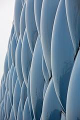 Aquatic centre, Olympic Park, Beijing (Miche & Jon Rousell) Tags: china beijing olympic olympicpark birdnest aquaticcentre