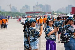 Beijing Olympic Park, Beijing, China (Miche & Jon Rousell) Tags: china beijing olympic olympicpark birdnest