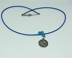 Aquarius Zodiac Pendant Necklace (occultspirits) Tags: occult jewelry pendant necklace aquarius zodiac sun sign astrology