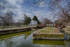 Spring View from Lock 8 (kendoman26) Tags: hdr nikhdrefexpro2 hff happyfencefriday sonyalpha sonya6000 sonyphotographing sel1628 sonyvclecu1 imcanal iandmcanal imcanaliandmcanal enjoyillinois travelillinois