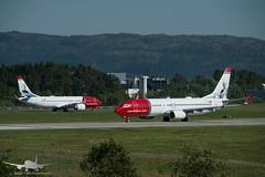 Bergen Airport - ENBR/BGO (Aviation & Maritime) Tags: eifya lndyb norwegian norwegianairshuttle norwegianairinternational norwegianair boeing boeing737 b737 b737800 boeing737800 boeing737max8 b737max8 bgo enbr bergenairportflesland bergenlufthavnflesland flesland bergen norway