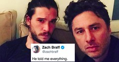 "Here's How 27 Celebrities Reacted To ""Game Of Thrones"" This Week (suzanbtodd) Tags: asongoficeandfire celebrities creativeworks familysaga game gameofthrones heres humaninterest reacted sports technologyinternet televisionprograms televisionseries televisionsoundtracks thrones trending week whatshappening"