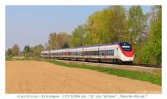 EC 250 RABe 501 Giruno - Kenzingen (CC72080) Tags: rabe501 ec250 giruno stadler kenzingen cff sbb ffs triebzug personenzug extrafahrt extrazug zug train treno vlak automotrice