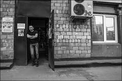 DR150515_576D (dmitryzhkov) Tags: urban city everyday public place outdoor life human social stranger documentary photojournalism candid street dmitryryzhkov moscow russia streetphotography people man mankind humanity bw blackandwhite monochrome