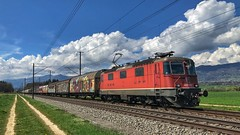 Re 420 173 (Die_Eisenbahn) Tags: sbb sbbcargo sbbc güterzug cargoexpress frei freighttrain re420 re420173 deitingen zug train schweiz switzerland