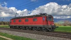 Re 620 053 (Die_Eisenbahn) Tags: sbb sbbcargo sbbc lokzug re620 re620053 deitingen zug train schweiz switzerland