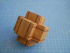 Hexapod (ISO_rigami) Tags: modular origami 3d a4 hexapod eckhardhennig wood