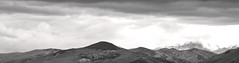 _SAB1803 (popa_sebastianmihail) Tags: digital canon 1dmkiii outdoor panorama landscape bw blackwhite mountain sky black white high nature peak rock top travel cloud outdoors ridge snow panoramic mountains monochrome mountaineering pano clouds rocky mist fog european scenics alpine