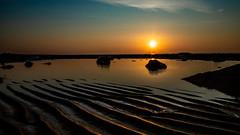 Pett Level at Sunrise (atthedouble2) Tags: pettlevel eastsussex beach rye kentuk sunrise sand sea ripples ocean tide