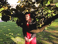 Nashville (kirstiecat) Tags: tree nashville self portrait selfportrait park selfie tennessee usa america woman female shadows