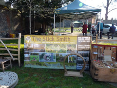 The Stick Smith at Bean Pole Day, April 2019 (1) (karenblakeman) Tags: caversham uk april 2019 beanpoleday cavershamcourtgardens thesticksmith reading berkshire