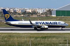 Ryanair Boeing 737-8AS  |  EI-EBH  |  LMML (Melvin Debono) Tags: ryanair boeing 7378as | eiebh lmml cn 37526 melvin debono spotting canon eos 5d mark iv plane planes photography airport airplane aviation aircraft malta mla