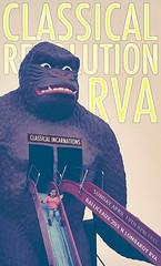 Classical Revolution RVA (BOPST) Tags: bopst design graphicdesign photoshop poster gigposter classicalrevolution ape slide 2015