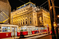 Prag bei Nacht (D.ST.) Tags: prag bei nacht aufgenommen mit der canon eos 750d 750 d canoneos750d eos750d praha prague night lights tram train nightlife tschechien česká republika czech lichter spiegelreflex lightroom photoshop 22 ostern