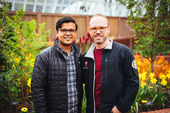 Shiv and Silvio (Graham Gibson) Tags: sony a7rii voigtlander 40mm f12 nokton fe phipps conservatory pittsburgh gardens