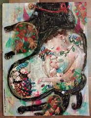 土砂降り (bettycat) Tags: artcolourflowerdoll colour chinese cat painting people kyoto hongkong illustration japan