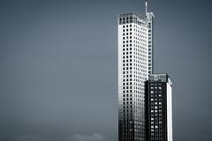 Maastoren (s.W.s.) Tags: skyscraper tower cityscape architecture architectural rotterdam netherlands city building sky holland minimal urban abstract maastoren nikon lightroom