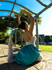 DSCF1544 (ph.aprils) Tags: museum tigre argentina ballet dance dream life girl colors photo aesthetic ballerina cold water nature feet pointe shoes inspiration sport