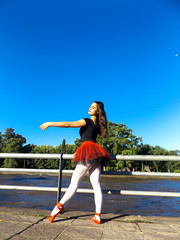 DSCF1596 (ph.aprils) Tags: museum tigre argentina ballet dance dream life girl colors photo aesthetic ballerina cold water nature feet pointe shoes inspiration sport