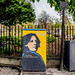 I HAVE NOTHING TO DECLARE EXCEPT MY GENIUS [STREET ART TRIBUTE TO OSCAR WILDE]-151755