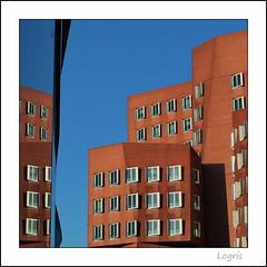 Twins (Logris) Tags: architektur architecture gehry windows fenster canon eos reflection reflections spiegelung spiegelungen