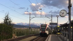 RABe 520 012-1 SBB CFF FFS in Eschenbach station Switzerland (roli_b) Tags: sbb cff ffs rabe 520 0121 520012 eschenbach bahnhof station rail railway tren train zug bahn regionalzug 2019 stadler flirt composition stadlerrail