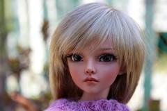 Mirwen, still needs a name.... (dambuster01) Tags: fairyland minifee mirwen msd tanned jointed bjd