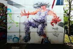 Bang KREW - Bust the Drip (Thethe35400) Tags: artderue arteurbano arturbain arturbà arteurbana calle fresque grafit grafite grafiti graffiti graffitis graff mural murales muralisme plantilla pochoir stencil streetart schablone stampino tag urbanart wall