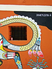 dysneylexya (theodehaan) Tags: spain valencia colorfull graffiti wall window tin