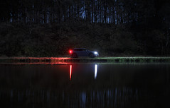 3240 (Keiichi T) Tags: 夜 木 canon tree light eos shadow water 日本 car 車 リフレクション 影 水 6d reflection 光 japan night