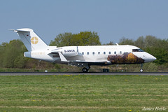 MHS Aviation D-ANTR Bombardier Challenger 604 at Manchester Airport 19-04-19 (JH Aviation and Railway Photography) Tags: airliner airport aircraft aviation airways airlines aviationviewingpark avp jetliner jet jets egcc manchester manchesterairport southside