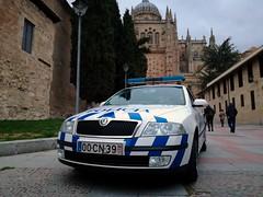Skoda Octavia PSP de Guarda en Salamanca (AlbertoSSC) Tags: psp policiadesegurançapublica portugal españa espanha salamanca skoda octavia