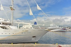 Wind Surf & Aurora (Andre Velho Cabral) Tags: windstar cruises azores