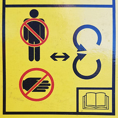 Do Not Handcuff People (Bracus Triticum) Tags: do not handcuff people stick figure アルバータ州 alberta canada カナダ 3月 弥生 さんがつ yayoi newlifemonth 2019 平成31年 spring march 三月 sangatsu
