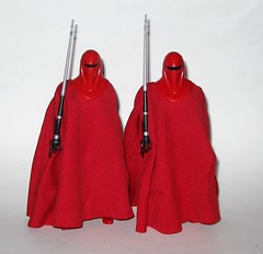 royal guards x 2 imperial royal guard star wars the black series 6 inch action figure #38 return of the jedi red and black packaging hasbro 2016 b (tjparkside) Tags: imperial royal guard emperors 38 star wars black series 6 inch action figure return jedi red packaging hasbro 2016 robe robes emperor palpatine blaster pistol blasters pistols holster episode vi six rotj guards x 2 two