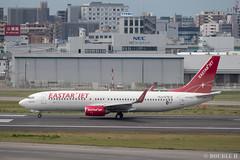 Fukuoka Airport 2019.4.13 (9) (double-h) Tags: omd em1markii omdem1markii lumixgxvariopz45175mmf4056asphpowerois rjff fuk fukuokaairport 福岡空港 airplane 飛行機 observationdeck 展望デッキ
