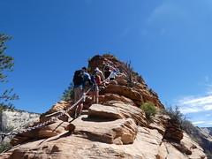 P1000524 (odetojoy24) Tags: zion utah angels landing hiking