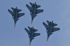 LIMA19 - 54 (coopertje) Tags: malaysia pulau langkawi lima airshow aircraft jet fighter sukhoi su30 flanker russian air force russianknoghts