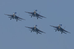 LIMA19 - 53 (coopertje) Tags: malaysia pulau langkawi lima airshow aircraft jet fighter sukhoi su30 flanker russian air force russianknoghts