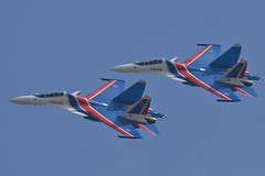 LIMA19 - 46 (coopertje) Tags: malaysia pulau langkawi lima airshow aircraft jet fighter sukhoi su30 flanker russian air force russianknoghts