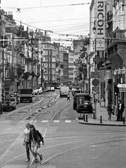 Brussels 2012 (tmvissers) Tags: brussels belgium 2012 tramtracks ricoh city street