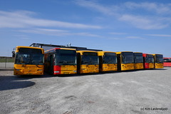 Just out of contract buses from Arriva Roskilde (Kim-B10M) Tags: movia arriva