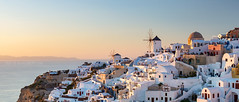 _MG_9530 - Oia mills in golden hour (AlexDROP) Tags: 2017 europe greece santorini oia greek sea travel color city urban cityscape sunset architecture panoramic skyline mill goldenhour canon6d ef241054lis best iconic famous mustsee picturesque postcard
