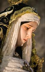 Nuestra Señora de las Angustias, BCN (Fernando Two Two) Tags: catholic católico esglesiadesantjaume religion saints bcn barcelona