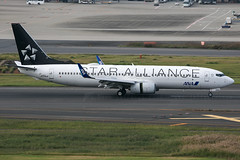 JA71AN B737-800 ANA / Star Alliance (JaffaPix +5 million views-thanks...) Tags: ja51an b737800 ana allnippon jaffapix davejefferys tokyoairport japan aircraft airplane aeroplane aviation flying flight runway airline airliner hnd haneda tokyohaneda hanedaairport rjtt planespotting specialcolours specialscheme staralliance 737 b737 b738 boeing