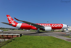 F-WWYG Airbus A330 Neo Thai Air Asia (@Eurospot) Tags: fwwyg hsxja airbus a330 neo a330900 toulouse blagnac 1901 thaiairasia airasia